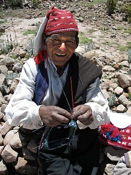 Knitter of Taquile