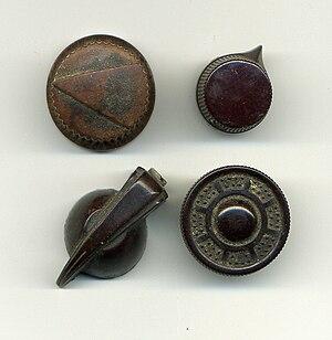 Control knob - Image: Knobs bakelite