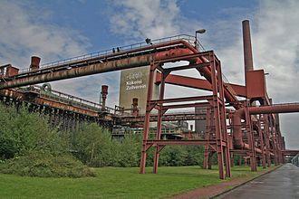 Zollverein Coal Mine Industrial Complex - Zollverein coking plant.