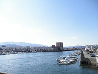 Komatsushimatown 外開 Komatsushimacity Tokushimapref Kandase river.JPG