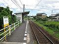 Kotoden-Kotohira-line-Hayuka-station-platform-20100805.jpg