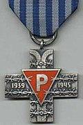 Krzyż Oświęcimski-awers