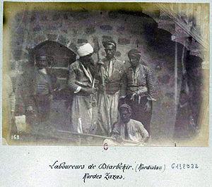 Zazas - Image: Kurdes Zaza de Diarbekir (Kurdistan)