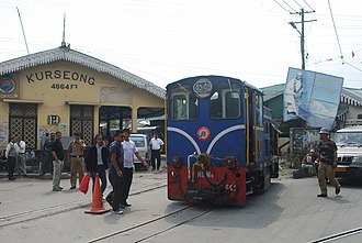 Kurseong (Vidhan Sabha constituency) - Kurseong train builting