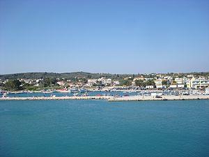 Kastro-Kyllini - Image: Kyllini view