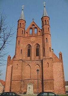Kyritz Place in Brandenburg, Germany