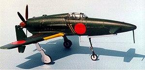 Kyushu J7W - Photo of scale model J7W.
