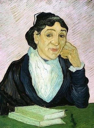 L'Arlésienne (painting) - Image: L'Arlésienne (portret van Madame Ginoux)