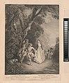 L'Oeuvre D'Antoine Watteau Pientre du Roy en son Academie Roïale de Peinture et Sculpture Gravé d'après ses Tableaux & Desseins originaux...par les Soins de M. de Jullienne, Volume I MET DP-12366-001.jpg
