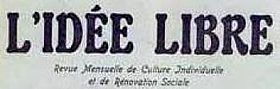 Image illustrative de l'article L'Idée libre