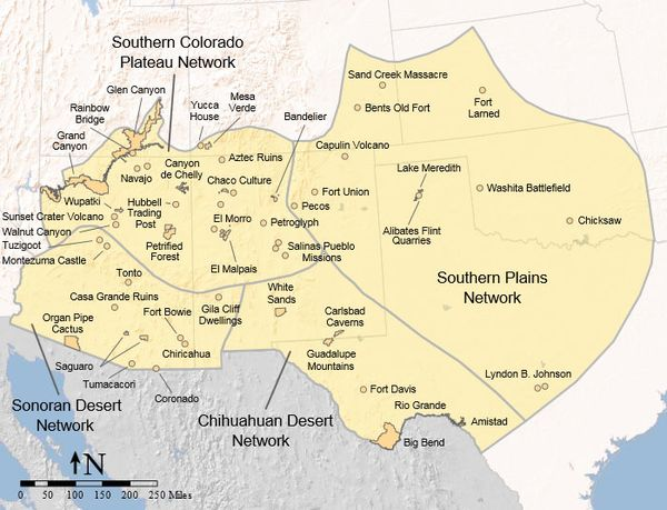 Map of the Southwestern United States as defined by the Learning Center of the American Southwest LCASMapoftheSouthwest.jpg