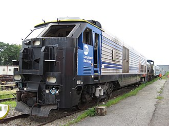 EMD DE30AC and DM30AC - Image: LIRR503August 2011