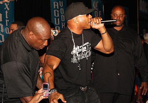 LL Cool J performing in Wilmington, Delaware