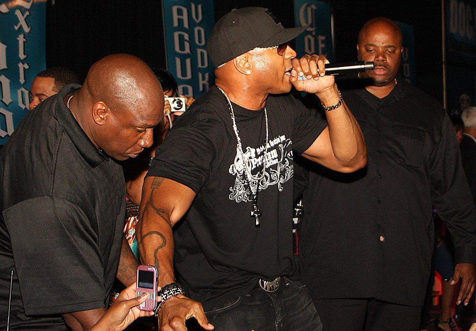 LL Cool J performing in Wilmington, Delaware