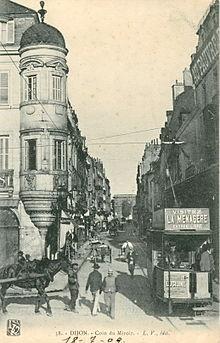 Ancien tramway de dijon wikip dia for Le miroir dijon