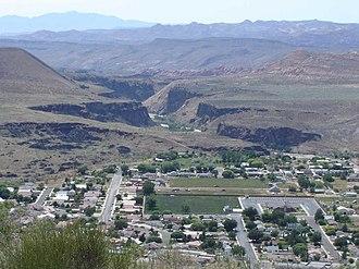 La Verkin, Utah - Image: La Verkin, near Zion
