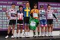 Ladies Tour of Norway 2018 - podium and jerseys.jpg