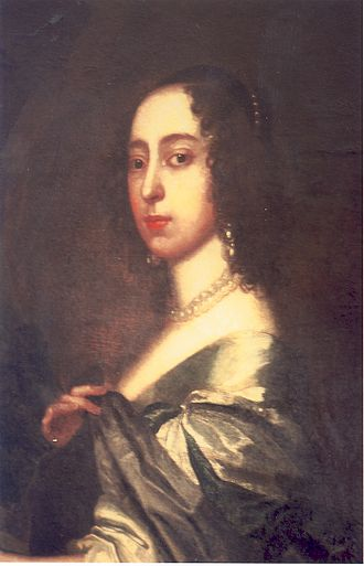 Henry Bourchier, 5th Earl of Bath - Rachael Fane, Countess Dowager of Bath (detail). Pair to the painting above