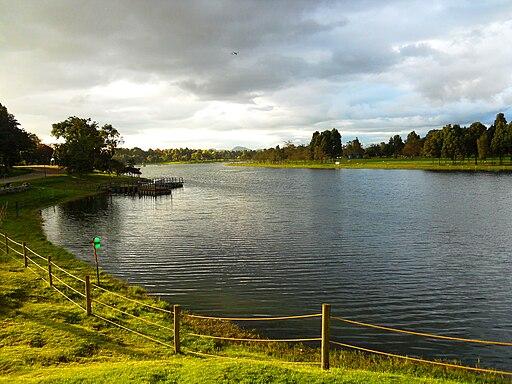 Lago del Parque Simón Bolívar