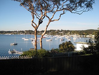 Lake Macquarie (New South Wales) - Lake Macquarie at Toronto