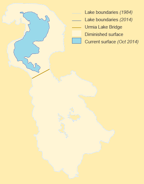 Lake Urmia Shrinkage