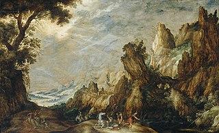 Landscape with Conversion of Saint Paul