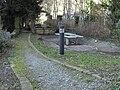 Landzunge Rossneckar-Arme Spielplatz Sitzplatz Aufenthaltsplatz Baeckermuehle Esslingen.jpg