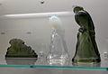 Lapin et deux perruches par Charles Graffart à Val Saint-Lambert (1932-35), Grand Curtius, Liège.JPG