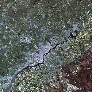 Large LANDSAT of Philadelphia