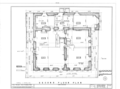 Larkin House, 464 Calle Principal, Monterey, Monterey County, CA HABS CAL,27-MONT,9- (sheet 4 of 15).png