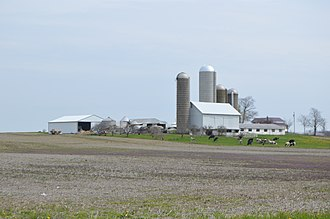 Blooming Grove Township, Richland County, Ohio - Agricultural scene on Lattimer Road