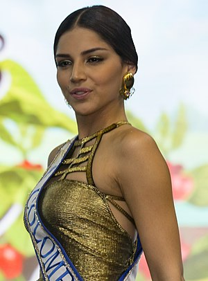 Miss Colombia -  Laura González, Señorita Colombia 2016, 1st runner-up at Miss Universe 2017.