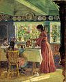 Laurits Tuxen - Pouring the morning coffee - Google Art Project.jpg
