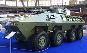 Lazar armored vehicle - Image: Lazar 2 BVT