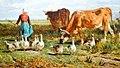 Le Patûrage à la gardeuse d'oies, 1854, huile sur toile, Constant Troyon (3).jpg