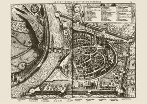 Plan De La Ville De Marseille