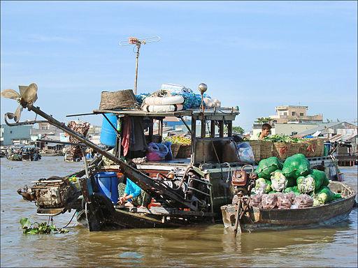 Le marché flottant (Cai Rang, Vietnam) (6642689175)