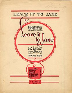 <i>Leave It to Jane</i> musical