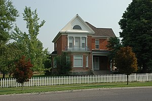 Hyde Park, Utah - The John E. Lee House is listed on the National Register of Historic Places.