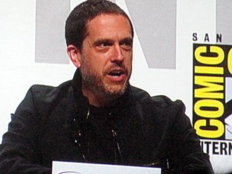Toy Story 3 - Lee Unkrich, pictured at the Toy Story 3 panel at WonderCon 2010 in April 2010, was the full-time director for the film.