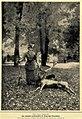 Lehnsgräfin F. Krag-Juel-Vind-Frijs mit dem von ihr erlegten Kronhirsch in Frijsenborg, Jütland, 1904.jpg