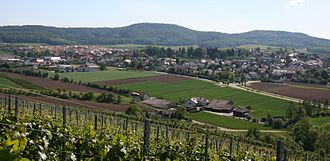 Lehrensteinsfeld - View from North-East
