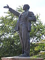 Lenin statue from outside the Csepel ironworks 1.JPG