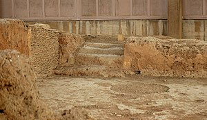 Lerna - Stairs to an upper floor in the Early Helladic House of the Tiles