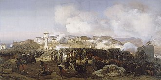 Constantine, Algeria - Siege of Constantine in October 1837