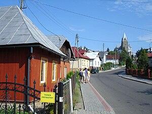 Lesko - Image: Lesko roman catholic church