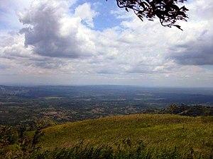 Liguasan Marsh - View of the marsh from Mt. Akir Akir