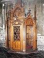 Lille Eglise Saint Maurice confessional (WLM2018).jpg