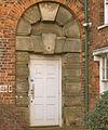 Lincoln Sessions House, Former Prison door 1809.jpg