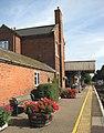 Lingwood station - view east along the station platform - geograph.org.uk - 1497713.jpg
